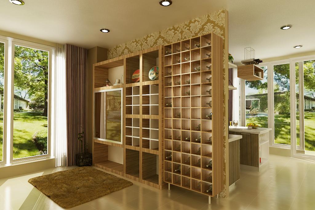 Mr Hendra BSD BYZANTHIUM KUCHEN arsitektur interior design ...