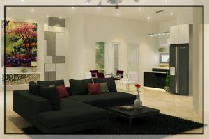 karya design byzanthium ruang keluarga1