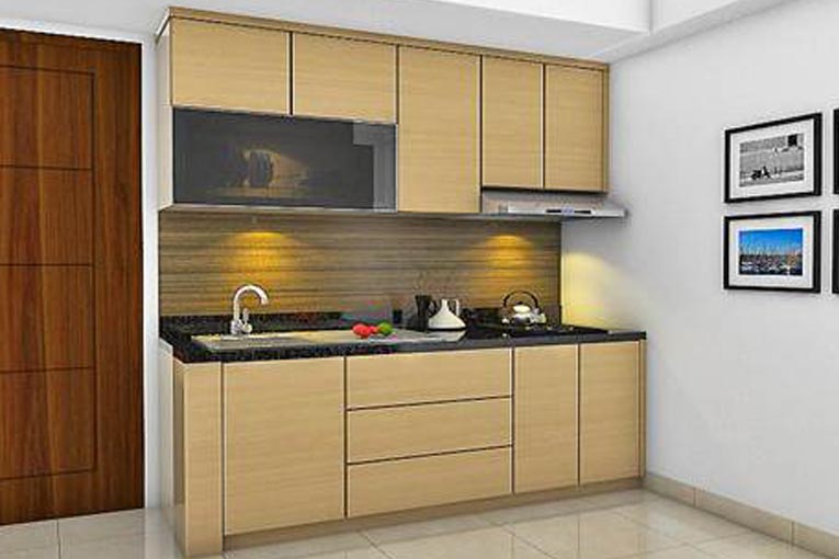 B kartun cicak byzanthium kuchen arsitektur interior for Kitchen set mewah